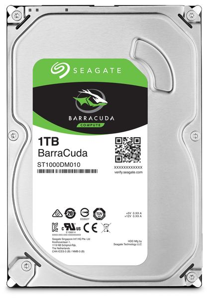 "SATA-HDD SEAGATE Barracuda ST1000DM010, 3,5"", 1TB, 7200RPM, 64MB"