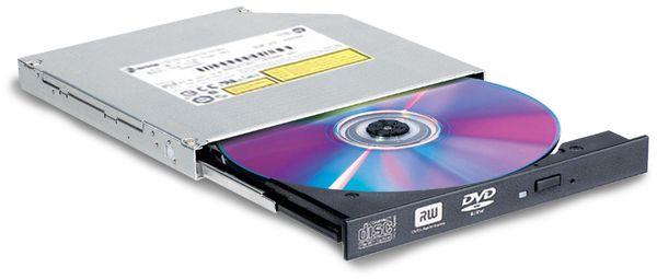 Slim DVD-Brenner LG GTC0NB, SATA, Bulk