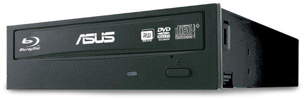 Blu-Ray Kombi-Laufwerk ASUS BC-12D2HT, SATA, Bulk, schwarz
