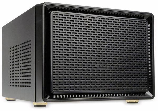 PC-Gehäuse KOLINK Satellite, Mini-ITX, schwarz - Produktbild 1