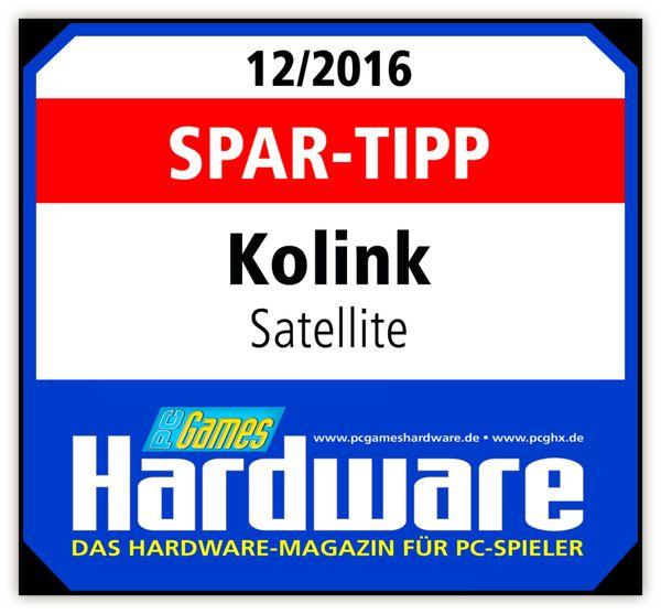 PC-Gehäuse KOLINK Satellite, Mini-ITX, schwarz - Produktbild 8