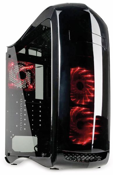 PC-Gehäuse KOLINK Punisher, Midi-Tower, schwarz