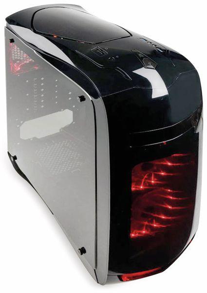 PC-Gehäuse KOLINK Punisher, Midi-Tower, schwarz - Produktbild 2