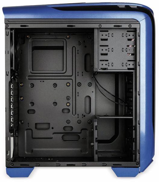 PC-Gehäuse KOLINK Aviator, Midi-Tower, schwarz/blau - Produktbild 6