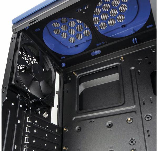 PC-Gehäuse KOLINK Aviator, Midi-Tower, schwarz/blau - Produktbild 9