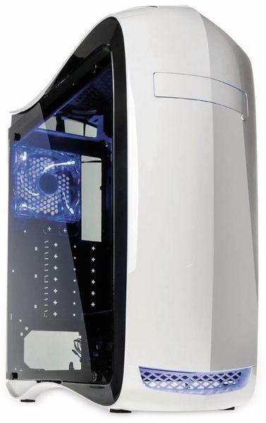 PC-Gehäuse KOLINK Punisher, Midi-Tower, weiß - Produktbild 1