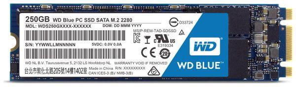 SSD WESTERN DIGITAL Blue WDS250G1B0B, M.2 2280, 250 GB