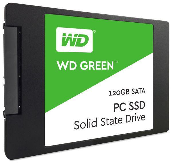 """SSD WESTERN DIGITAL Green WDS120G1G0A, 2,5"""", 120 GB, SATA III"""