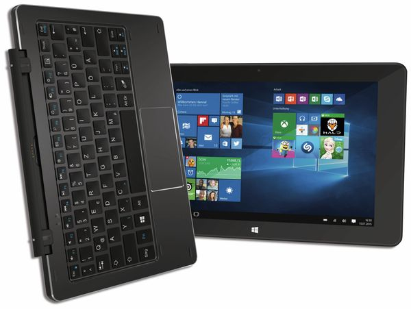 "Tablet-PC TREKSTOR SurfTab duo W1 3G, 10,1"", FullHD, Windows 10, B-Ware - Produktbild 1"