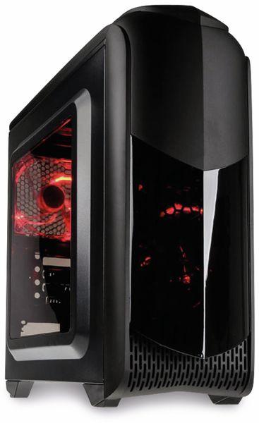 PC-Gehäuse KOLINK Aviator M, Micro-Tower, schwarz