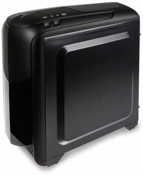 PC-Gehäuse KOLINK Aviator M, Micro-Tower, schwarz - Produktbild 4