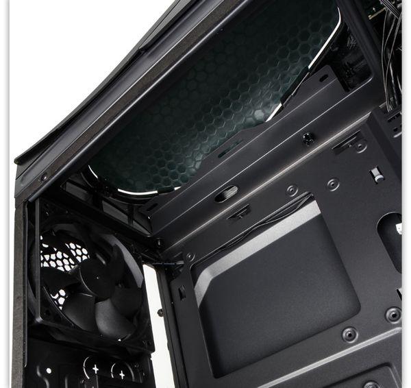 PC-Gehäuse KOLINK Punisher RGB, Midi-Tower, schwarz - Produktbild 3