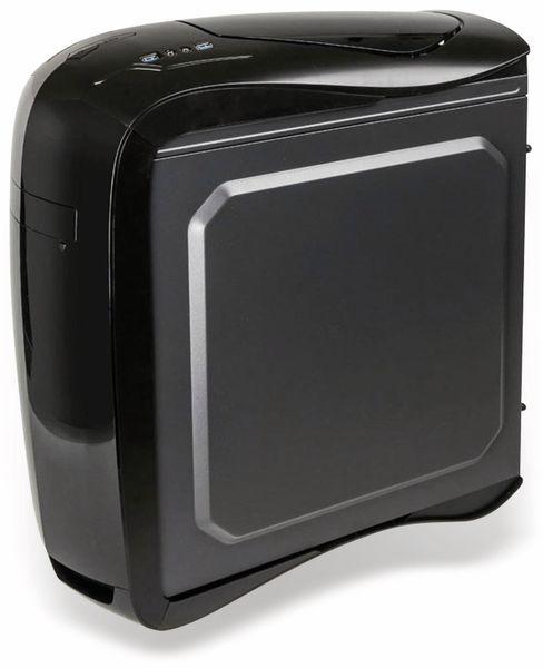 PC-Gehäuse KOLINK Punisher RGB, Midi-Tower, schwarz - Produktbild 5