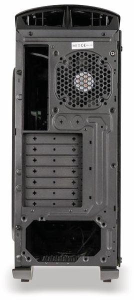 PC-Gehäuse KOLINK Punisher RGB, Midi-Tower, schwarz - Produktbild 7