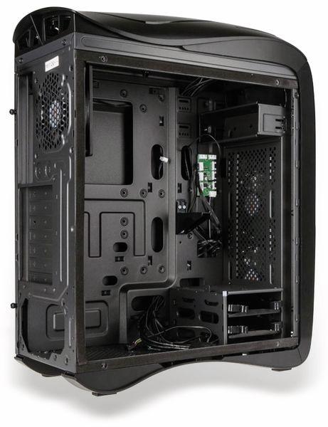 PC-Gehäuse KOLINK Punisher RGB, Midi-Tower, schwarz - Produktbild 10