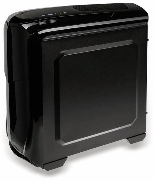 PC-Gehäuse KOLINK Aviator, Midi-Tower, schwarz/grün - Produktbild 5