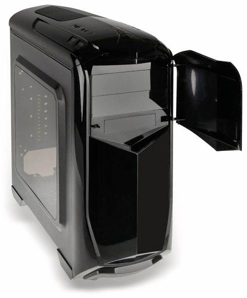 PC-Gehäuse KOLINK Aviator, Midi-Tower, schwarz/grün - Produktbild 8