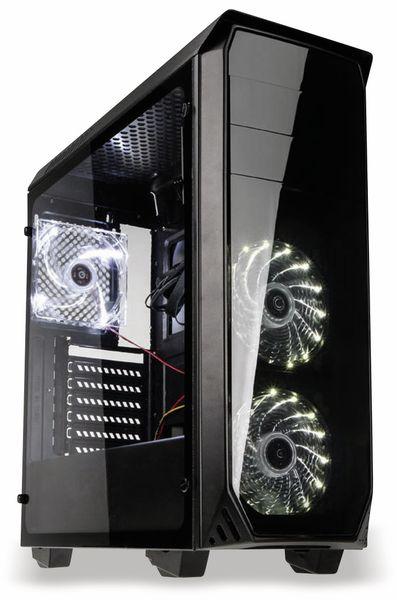 PC-Gehäuse KOLINK Luminosity, Midi-Tower, schwarz - Produktbild 1