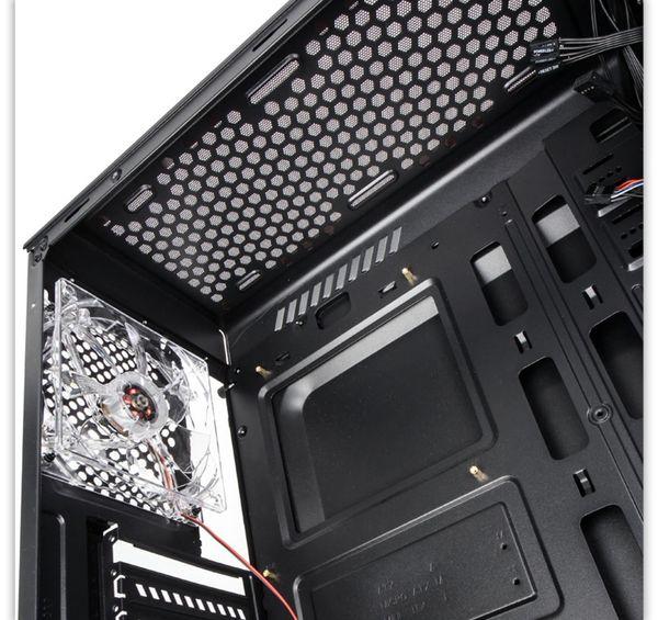 PC-Gehäuse KOLINK Luminosity, Midi-Tower, schwarz - Produktbild 2
