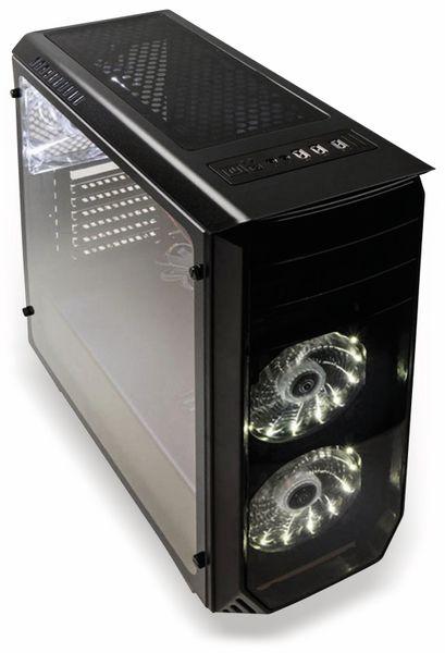 PC-Gehäuse KOLINK Luminosity, Midi-Tower, schwarz - Produktbild 3