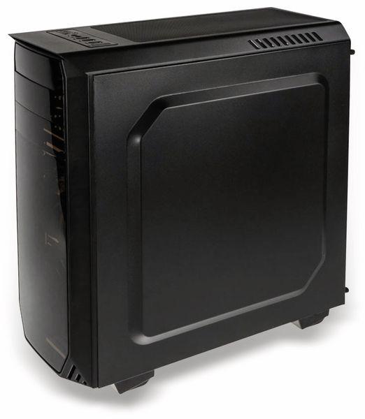 PC-Gehäuse KOLINK Luminosity, Midi-Tower, schwarz - Produktbild 4