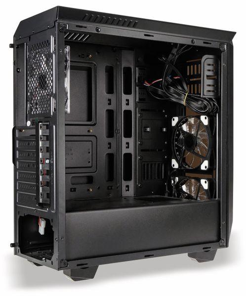 PC-Gehäuse KOLINK Luminosity, Midi-Tower, schwarz - Produktbild 8
