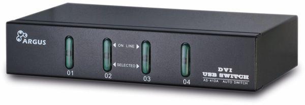 KVM Switch KVM-AS-41DA, 4-port, B-Ware - Produktbild 2