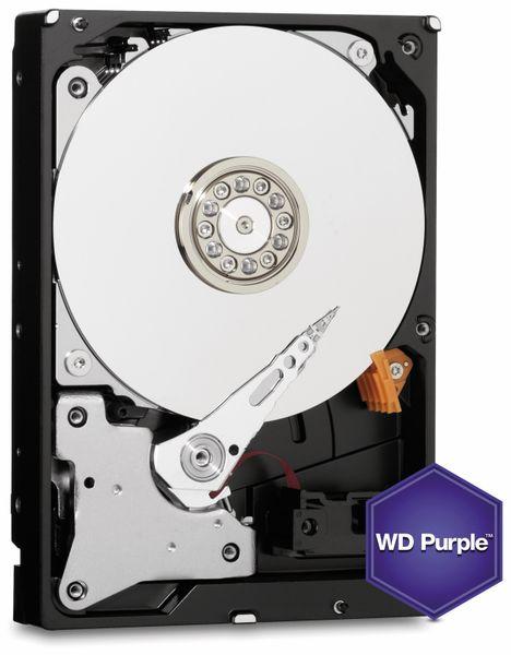 """Festplatte WESTERN DIGITAL WD20PURZ, 3,5"""", 2 TB, Videoüberwachung - Produktbild 1"""