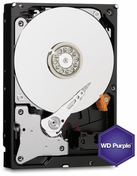 "Festplatte WESTERN DIGITAL WD20PURZ, 3,5"", 2 TB, Videoüberwachung"