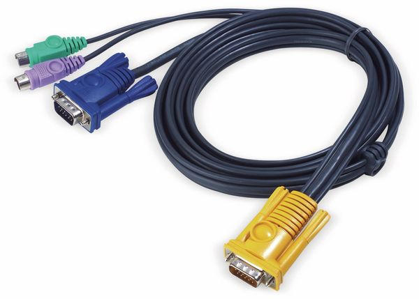 KVM Kabel ATEN 2L-5202P, SPHD, PS/2, 3 m