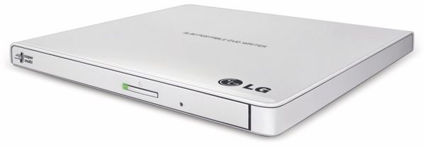 Slim DVD-Brenner LG GP57ES40, 24x, USB, portable