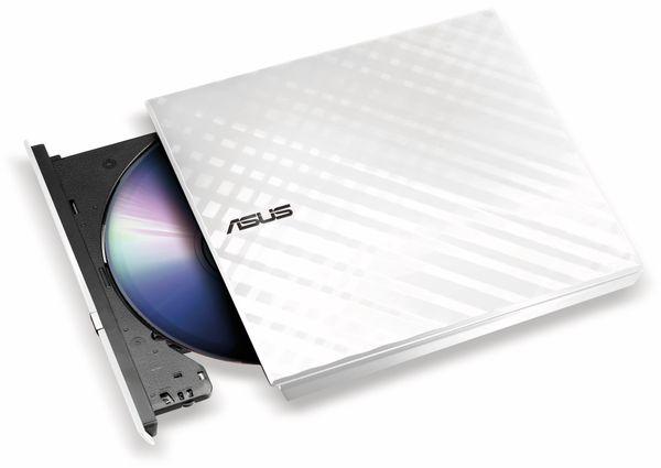DVD-Brenner ASUS SDRW-08D2S-U Lite, portable, USB, weiß