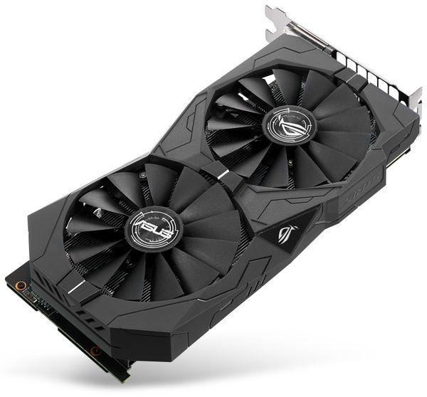 Grafikkarte ASUS ROG STRIX-GTX1050-2G-Gaming, 2 GB DDR5 - Produktbild 3