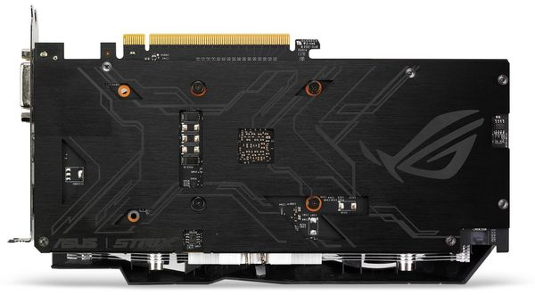 Grafikkarte ASUS ROG STRIX-GTX1050-2G-Gaming, 2 GB DDR5 - Produktbild 4