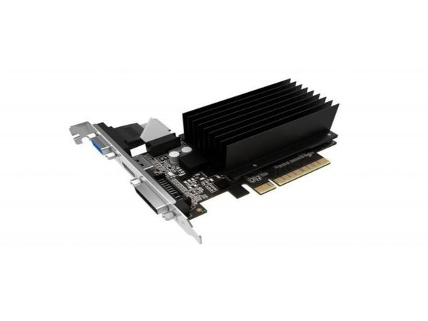 Grafikkarte GAINWARD GT 710 SilentFX, 1 GB DDR3 - Produktbild 1