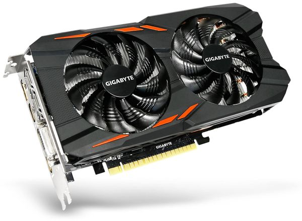 Grafikkarte GAINWARD GTX 1050 Ti, 4 GB DDR5