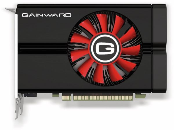 Grafikkarte GAINWARD GTX 1050 Ti, 4 GB DDR5 - Produktbild 4
