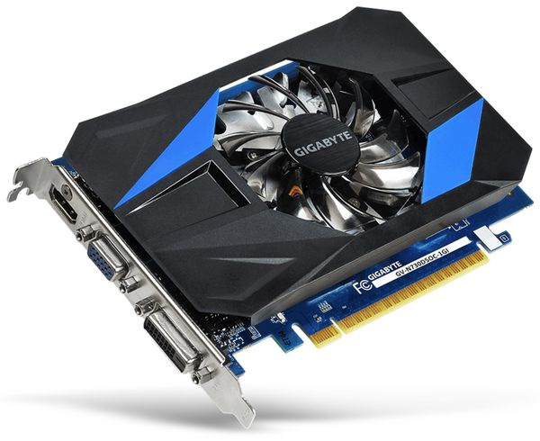 Grafikkarte GIGABYTE GT 730, 1 GB DDR5 - Produktbild 1