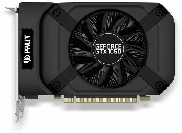 Grafikkarte PALIT GTX 1050 StormX, 2 GB DDR5 - Produktbild 2