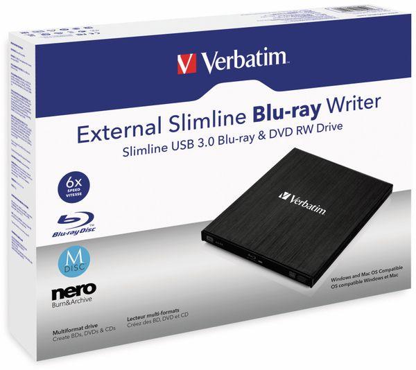 Blu-ray Brenner VERBATIM 43890, BDXL, M-DISC, Slimline, schwarz - Produktbild 2