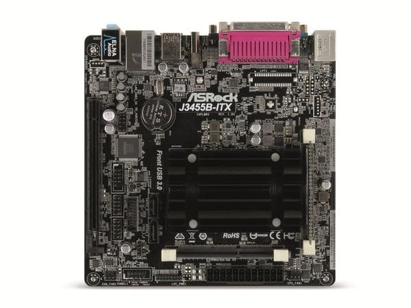 Mainboard-Bundle ASROCK J3455-ITX, BGA, Intel Celeron, 8 GB DDR3 - Produktbild 1