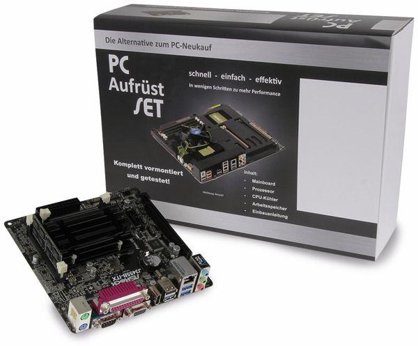 Mainboard-Bundle ASROCK J3455B-ITX, BGA, Intel Celeron, 8 GB DDR3 - Produktbild 2