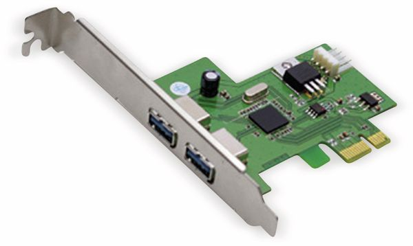 USB 3.0 PCIe-Karte 2-LINK MM012, 2-port