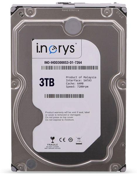"""SATA-HDD I.NORYS, 3,5"""", 3 TB, 7200 U/min"""