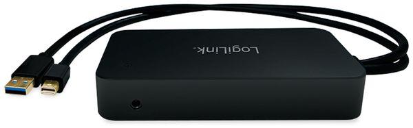 Mini-DisplayPort Dockingstation, 2x USB 3.0, LAN, HDMI, DP