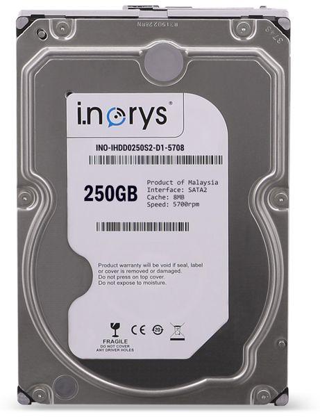 """SATA-HDD I.NORYS IHDD0250S2-D1-5708, 3,5"""", 250 GB, 5700 U/min"""