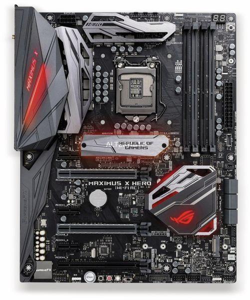 Mainboard ASUS Maximus X Hero, LGA1151, Asus-Aura-Beleuchtung - Produktbild 1