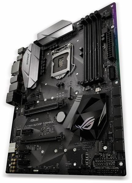Mainboard ASUS Strix B250F Gaming, LGA1151 - Produktbild 1