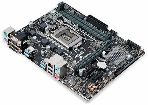 Mainboard ASUS Prime B250M-K, LGA1151 - Produktbild 2