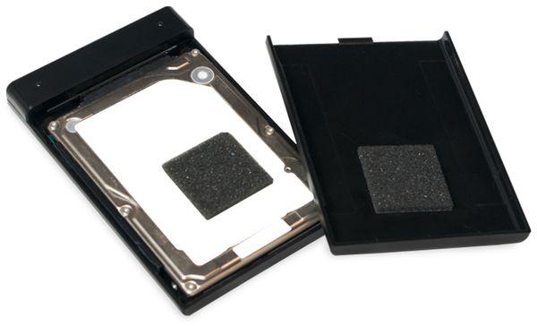 "USB3.0 Festplattengehäuse LOGILINK UA0275, 2,5"", Super-Slim, schwarz - Produktbild 4"